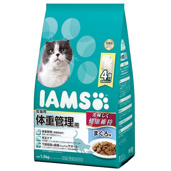 箱売アイムス成猫体重管理まぐろ1.5kg