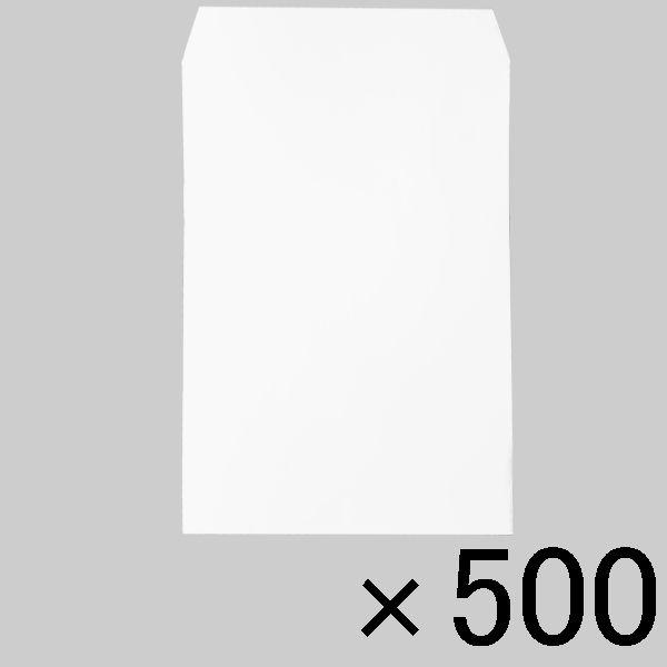 透けにくい白ケント封筒 角6 500枚