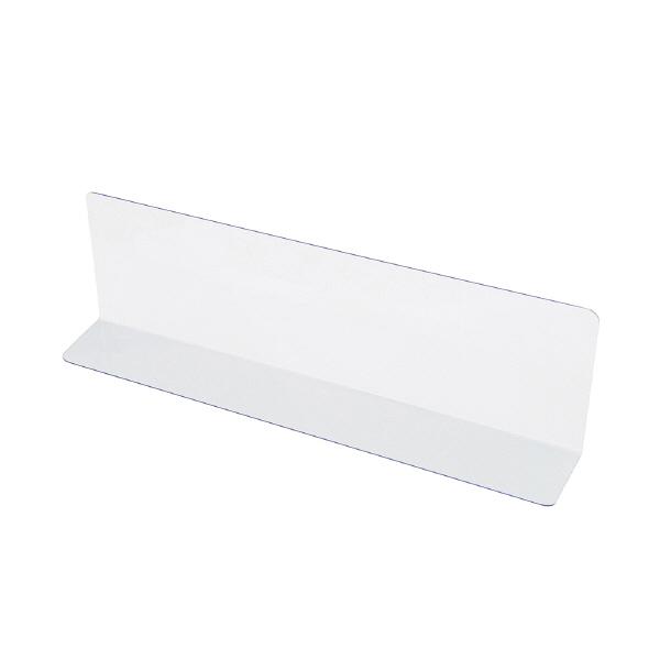 オープン工業 仕切板(透明) PE-4 1セット(10枚入) (取寄品)