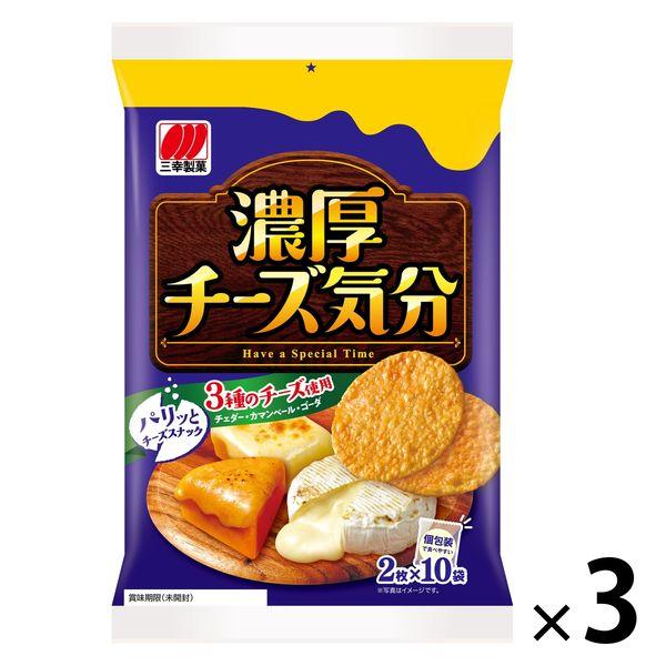 三幸製菓 チーズ気分 20枚 3袋
