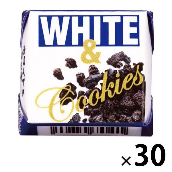 チロルチョコ<ホワイト&クッキー>30個