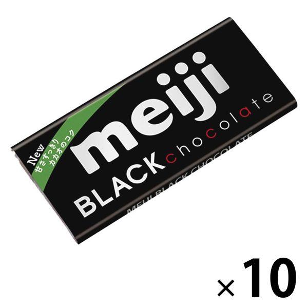 明治 ブラックチョコレート 10枚