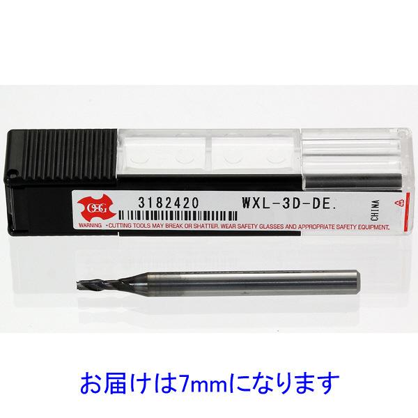 OSG WXL-3D-DE7 WXLコート2刃 3D刃長タイプ 1セット(2個:1個x2)