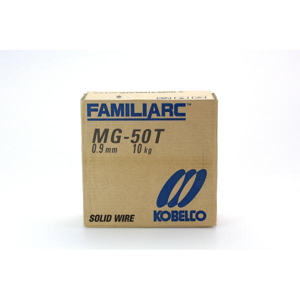 神戸製鋼 炭酸ガス溶接用ワイヤー ワイヤー径:0.9 MG-50T0.9 1セット(20kg:10kg入x2)