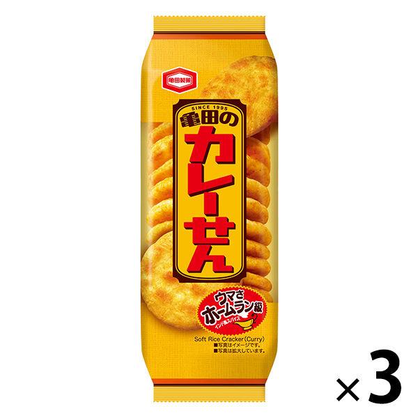 亀田のカレーせん 18枚 3袋