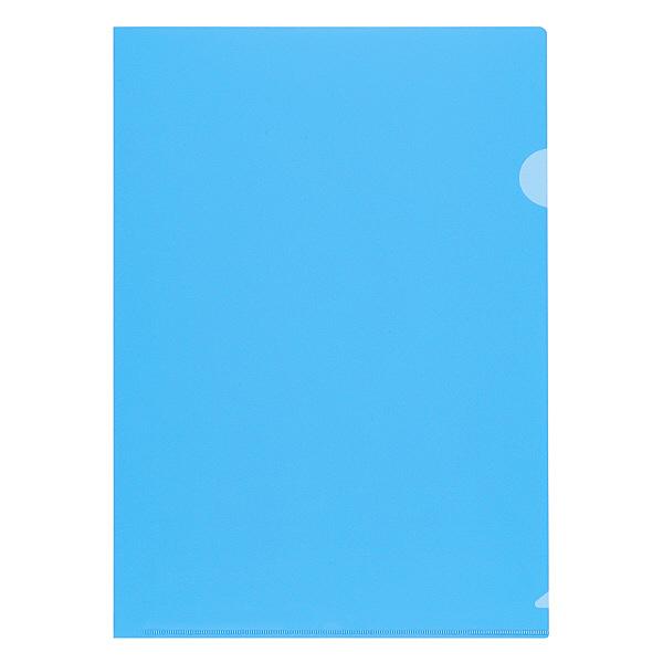 クリアーホルダーA4 ブルー 10枚