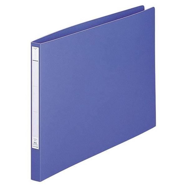 パンチレスファイル A3ヨコ 10冊 リヒトラブ HEAVY DUTY 藍 F376-9