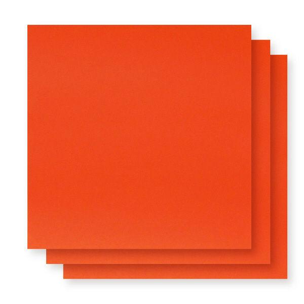 アイアイカラー単色おりがみ 橙 150mm×150mm NO.4 1袋(100枚入)