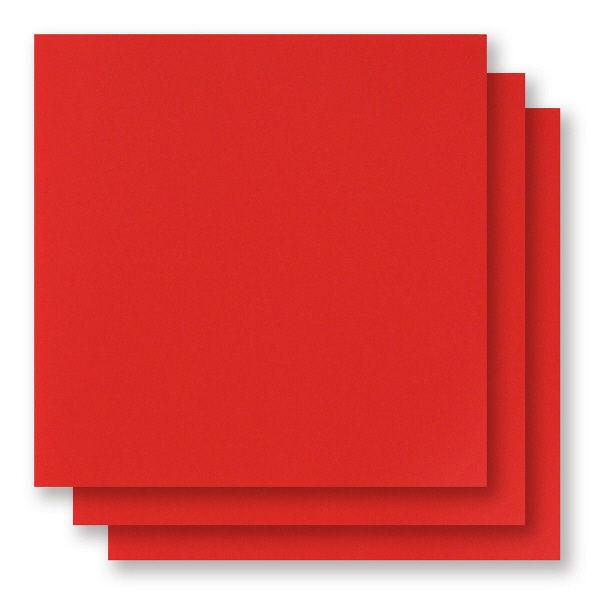アイアイカラー単色おりがみ 赤 150mm×150mm NO.2 1袋(100枚入)