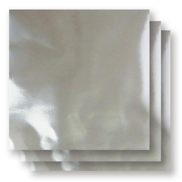 アイアイカラー単色おりがみ 銀 150mm×150mm NO.50 1袋(100枚入)