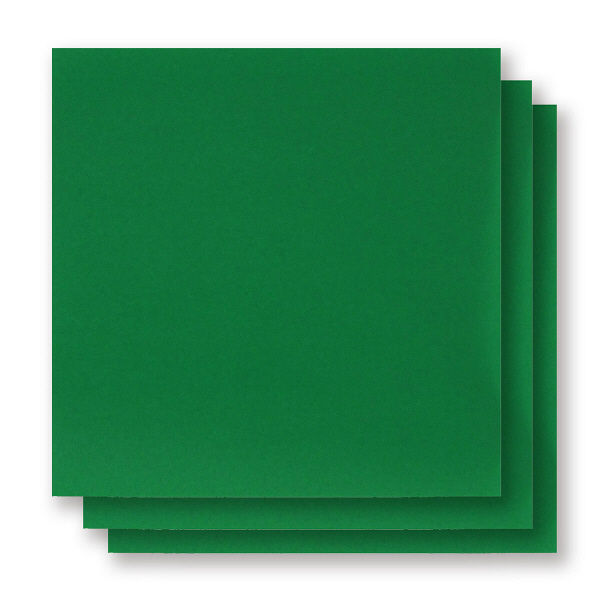アイアイカラー単色おりがみ 緑 150mm×150mm NO.9 1袋(100枚入)