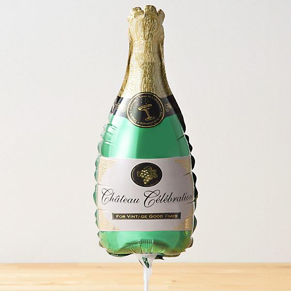 スティックバルーン シャンパンボトル