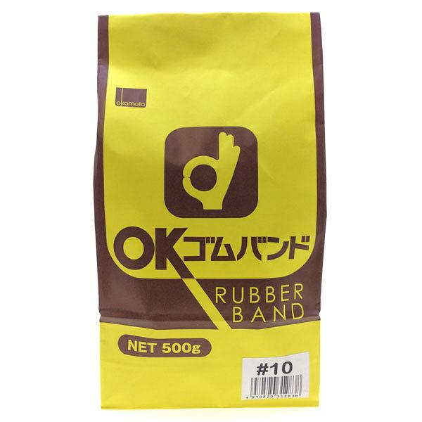 OKゴムバンド500g袋10×1.1mm