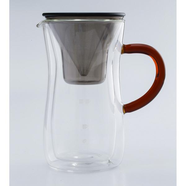 ダブルウォールコーヒーカラフェセット