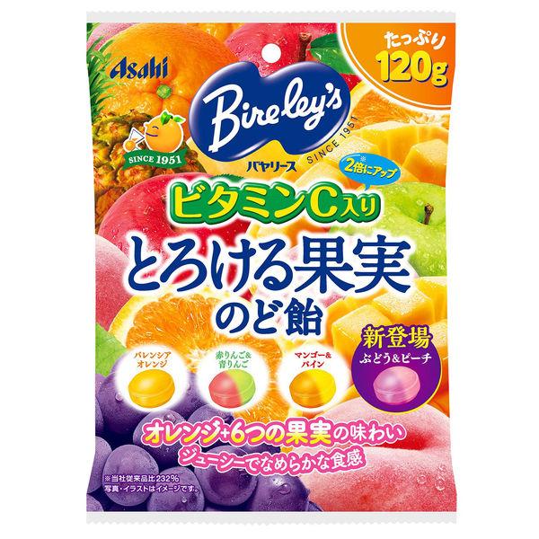 バヤリースとろける果実のど飴