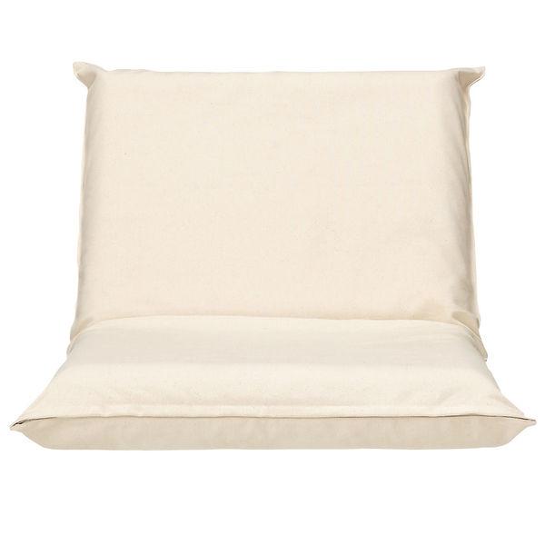 無印良品 座いす小用カバー/綿帆布生成