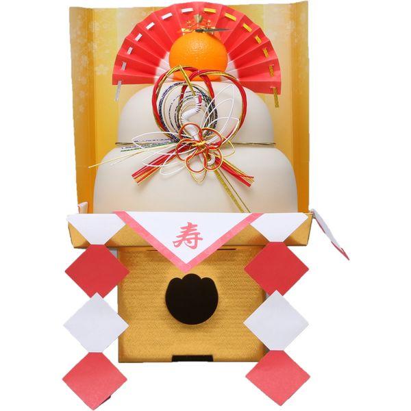 【生きり餅入 中】アイリスオーヤマ鏡餅