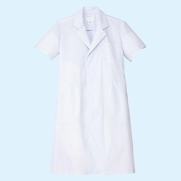 メンズ・半袖(シングル) ホワイト LL