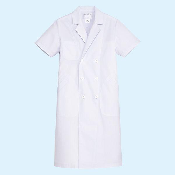 メンズ・半袖(ダブル) ホワイト 3L