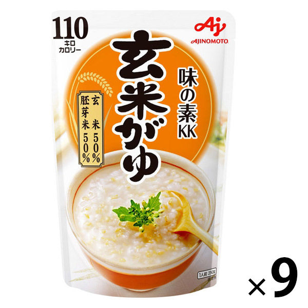 味の素 玄米がゆ 250g 9個