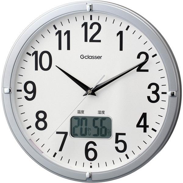 ラドンナ 電波掛け時計 デジサーモ GDK-002 1個 (取寄品)