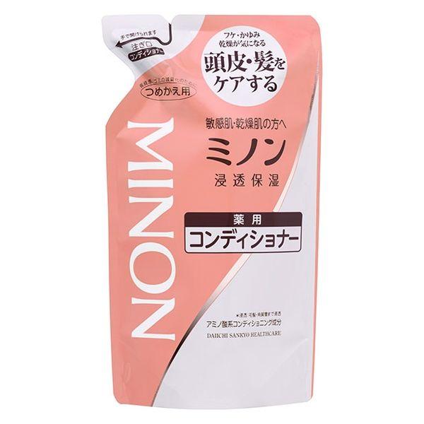 ミノン薬用コンディショナー替380