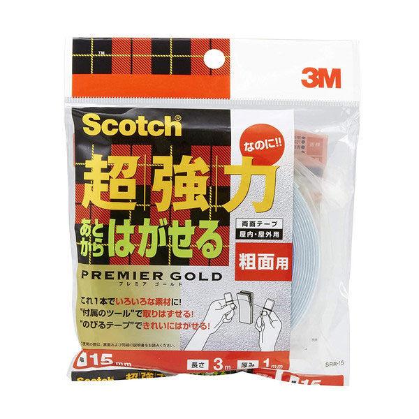 スリーエムジャパン スコッチR超強力なのにあとからはがせる両面テーププレミアゴールド SRR-15 1巻