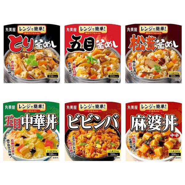 丸美屋 セット米飯アソート6食入