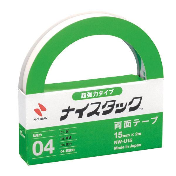 ニチバン ナイスタック 超強力タイプ NWーU15 2巻 (直送品)