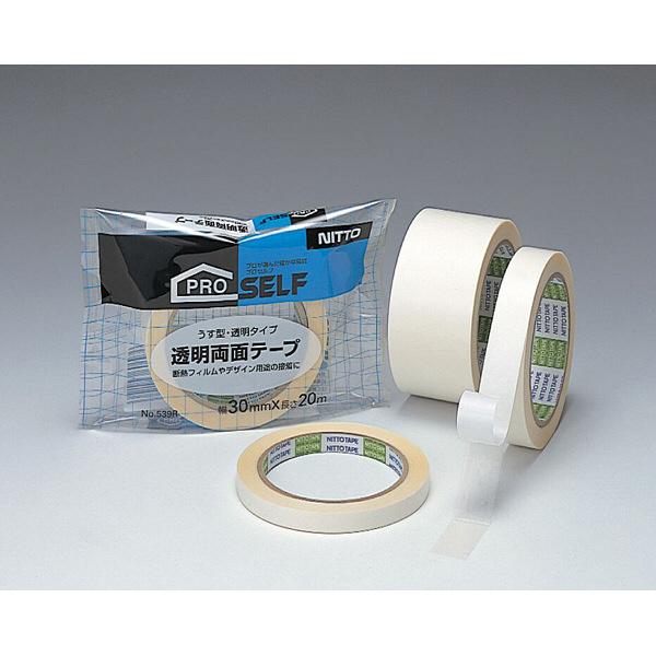 透明両面テープ 30×20 No539R