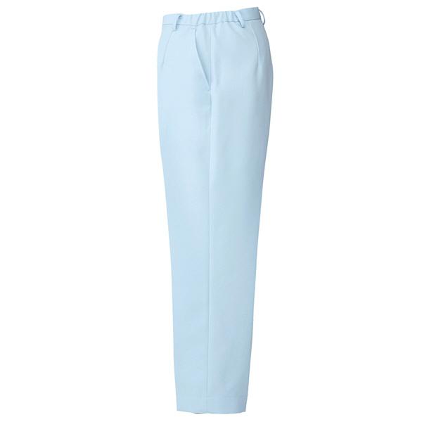 AITOZ(アイトス) ナースパンツ(ストレート) 女性用 サックスブルー L 861356-007
