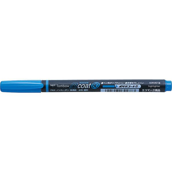 トンボ鉛筆 蛍コート80 89 あお WA-SC89 1セット(10本) (直送品)