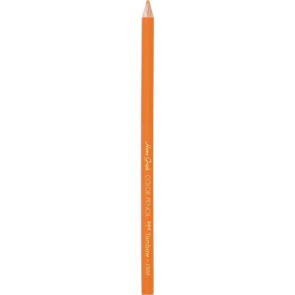色鉛筆(単色) 橙色 24本(直送品)