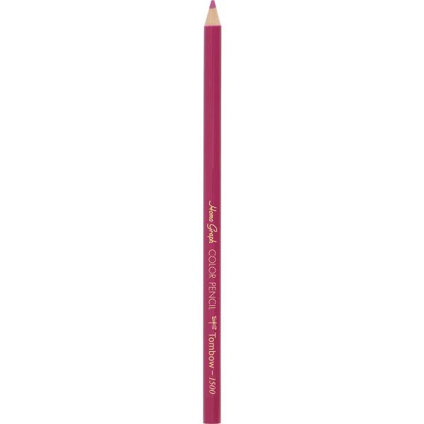 色鉛筆(単色) 赤紫 24本(直送品)