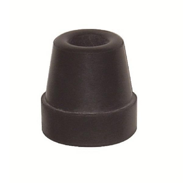 フジホーム 4点杖用ゴム(2コ入) 12mm用ブラック WB3347 (取寄品)