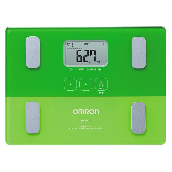 オムロン体重体組成計 カラダスキャン