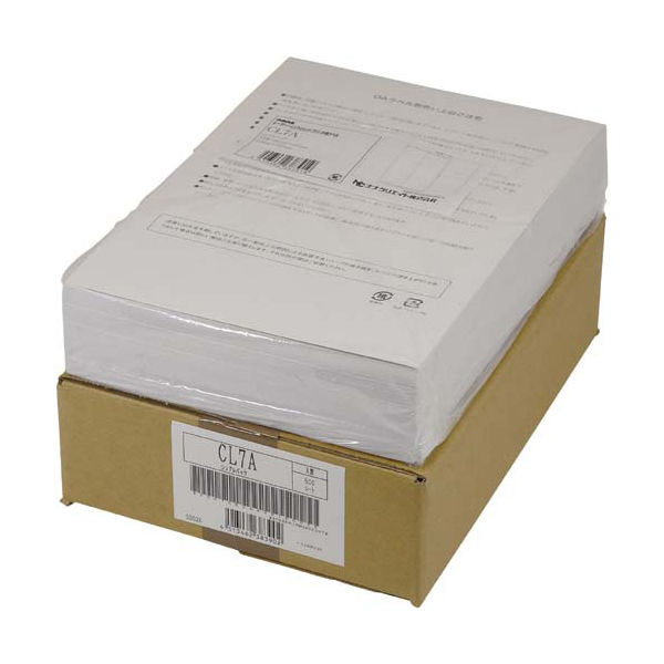 東洋印刷 マルチタイプラベルシンプルパック LDW4iBA 1ケース(500シート) (直送品)