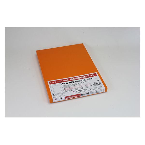 東洋印刷 ナナタフネスラベル FCL-11F 1ケース(100シート) (直送品)