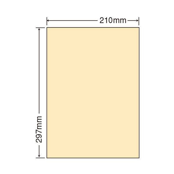 東洋印刷 マルチタイプカラーラベル CL-7Yイエロー 1ケース(500シート) (直送品)