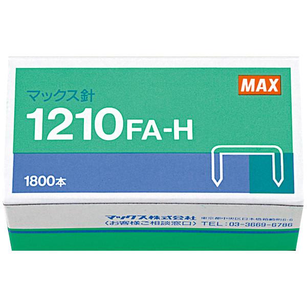 マックス ホッチキス針 大型厚とじ用 1210FA-H 1箱(100本つづり×18)