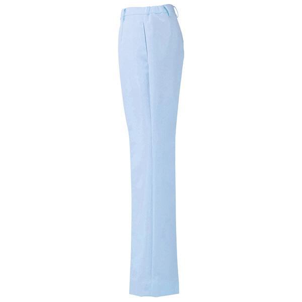 AITOZ(アイトス) ナースパンツ(ブーツカット) 女性用 サックスブルー L 861354-007
