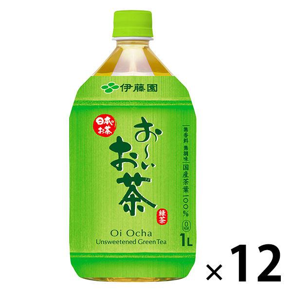 伊藤園 おーいお茶 緑茶 1L 12本