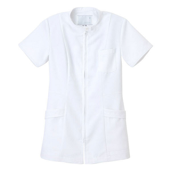 ナガイレーベン 医療白衣 女子上衣 CB-1532 ホワイト S (取寄品)