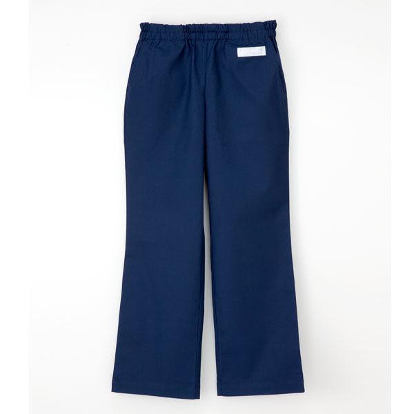 ナガイレーベン 男女兼用パンツ (スクラブパンツ) 医療白衣 ネイビー SS SL-5093 (取寄品)