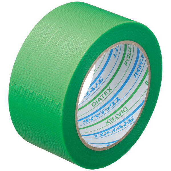ダイヤテックス パイオランクロス粘着テープ 塗装養生用 グリーン 幅50mm×25m巻 Y-09-GR 1セット(90巻:30巻入×3箱)