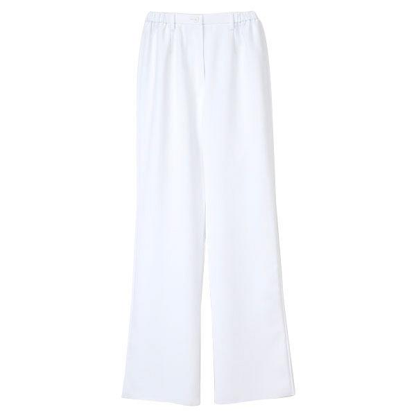 ナガイレーベン 女子パンツ 医療白衣 ホワイト LL CB-1533 (取寄品)