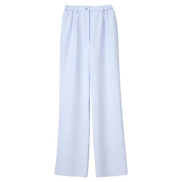 ナガイレーベン 医療白衣 女子パンツ CB-1533 ブルー L (取寄品)