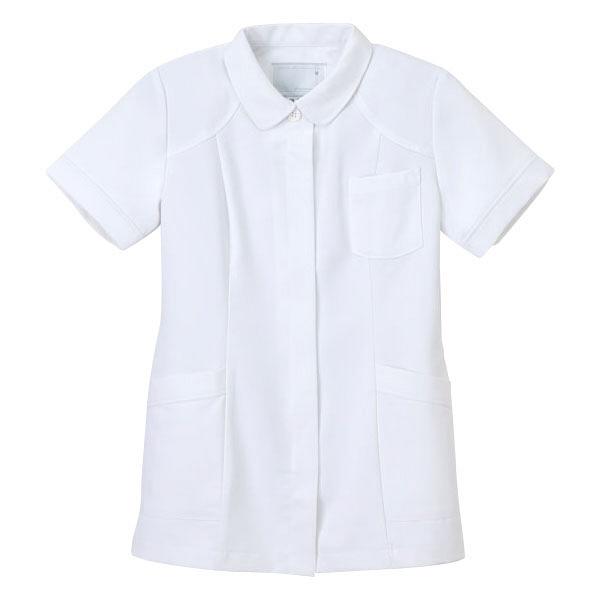 ナガイレーベン 医療白衣 女子上衣 CB-1542 ホワイト EL (取寄品)
