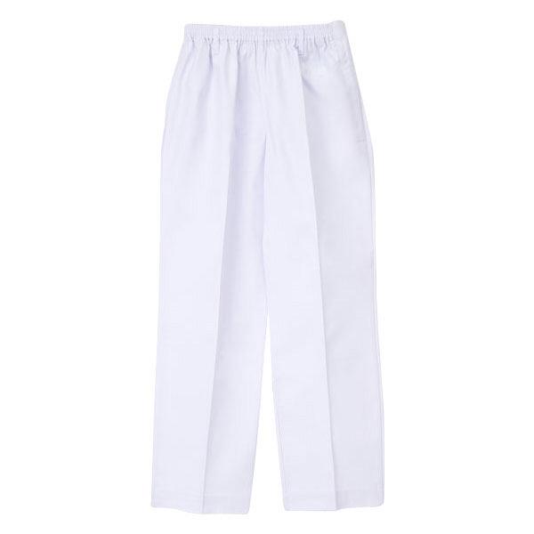 ナガイレーベン 医療白衣 女子パンツ ETA-4850 ホワイト L (取寄品)