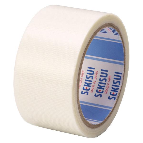 ポリエチレンテープ 半透明(半透明クロステープ) No.781 0.145mm厚 50mm×25m巻 白 積水化学工業